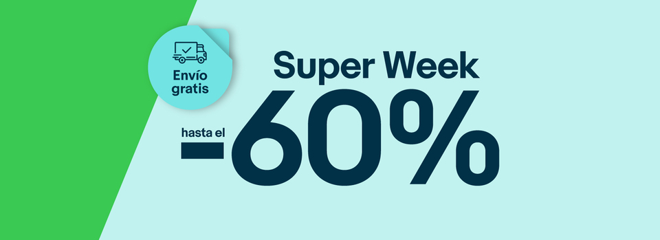 Mira las ofertas - ¡Super Week!