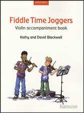 Fiddle Time Joggers Violin Accompaniment Music Book