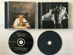 Robbie-Williams-2-CD-Album-Bundle-Greatest-Hits-amp-Swing-When-You-039-re-Winning