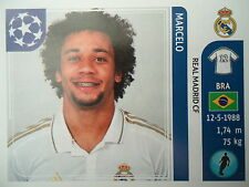 Panini 215 Marcelo Real Madrid UEFA CL 2011/12