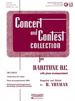 Concert And Contest Collection For Baritone B.c. Book Cd Pack Rubank B 004470007