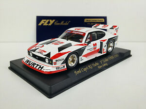 Slot-car-Scalextric-Fly-Ref-A146-Ford-Capri-RS-Turbo-1-Zolder-DRM-1981
