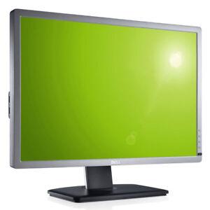 """Dell U2412M 24"""" Monitor TFT LED LCD 1920x1200 8ms 1000:1 DisplayPort DVI 16:10"""