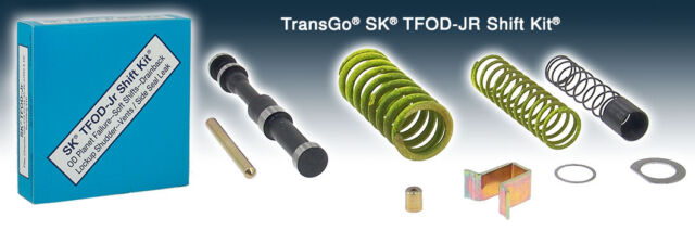 Chrysler Dodge Jeep TRANSGO SHIFT KITA500 A518 A618 Upgrade Kit  SK TFOD-JR