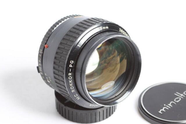 Minolta MC Rokkor-PG 1:1,2 58mm Objektiv