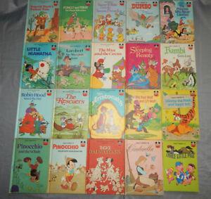 20-vintage-disney-books-ODD-TITLES-wonderful-world-of-reading-lot-pongo-amp-perdy