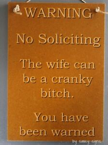 Naughty-Door-Knockers-Wife-Cranky-Bitch-Sign-no-soliciting-warning-disturb