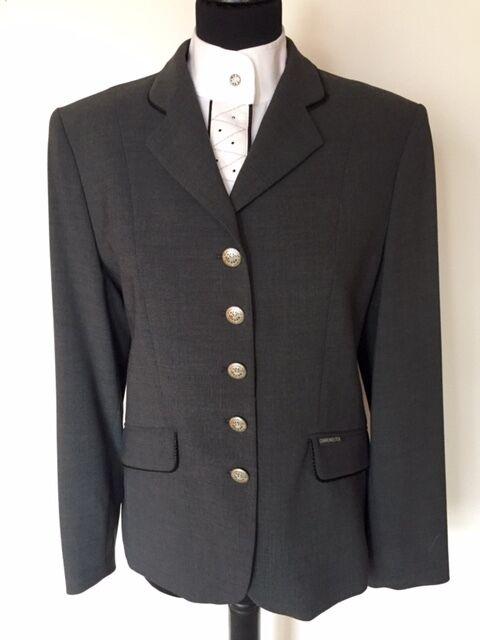 Sonnenreiter Turniersakko Bergamo grey, leicht, waschbar, knitterfrei Restpo. %
