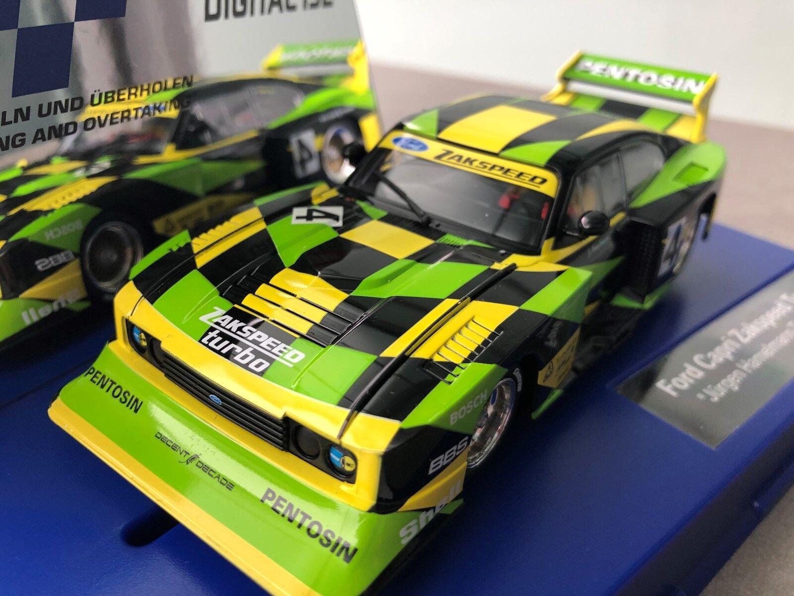 Carrera Digital 132 30832 20030832 Ford Capri Zakspeed Turbo   J Hamelmann,No. 4