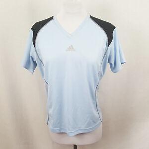 5aa8cd2e6836e Adidas Womens Shirt Top XL Blue Running Tee Performance Active ...