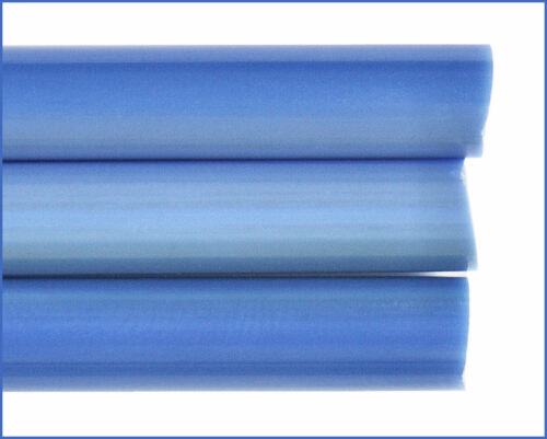 Pastell Glasstäbe maschinengezogen 5//6mm Pervinca-Blau Dunkel Effetre P222M