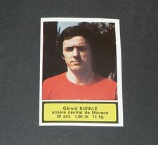 129 BURKLE AS MONACO AGEDUCATIFS FOOTBALL 1975-76 PANINI 75-1976