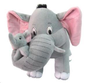 Mother Elephant Plush Baby Soft Toy Stuffed Animal Kids Birthday