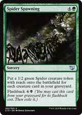 Spider Spawning X4 NM Commander 2015 MTG  Magic Cards Green Uncommon