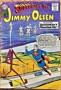 "SUPERMAN'S PAL JIMMY OLSEN COMICS #62 (1962) ""SUPERMAN'S SECRET PAL!"""