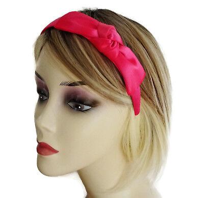 Bright Pink Flower Baby Headband Kylie Band