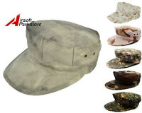 Tactical Airsoft Paintball Military Usma Camouflage Camo Octagon Cap Combat Hat