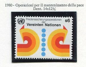 19313-UNITED-NATIONS-Vienna-1980-MNH-Peace-Operation