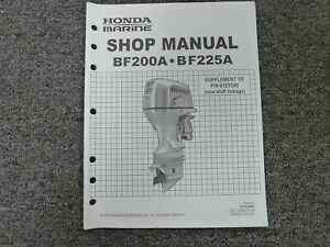 Honda-Model-BF200A-amp-BF225A-Outboard-Motor-Shop-Service-Repair-Manual-Supplement