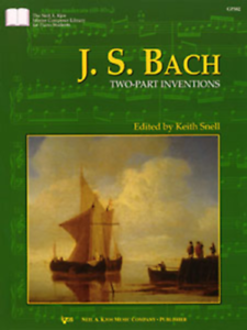 034-J-S-Bach-Two-Part-Inventions-FOR-THE-PIANO-034-MUSIC-BOOK-BRAND-NEW-ON-SALE