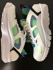new product 99472 53f16 Image is loading New-Nike-Air-Trainer-Huarache-Low-Scream-Green-