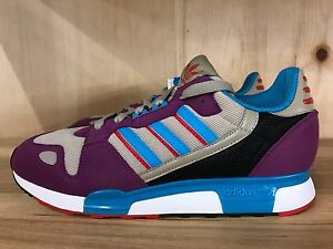 1c703ed2239e4 Image is loading ADIDAS-ORIGINALS-ZX-800-VIOLET-TURQUOISE-RED-RUNNING-
