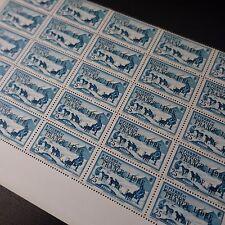 FEUILLE SHEET SAINT PIERRE ET MIQUELON N°253 x25 1941 FRANCE LIBRE NEUF ** MNH