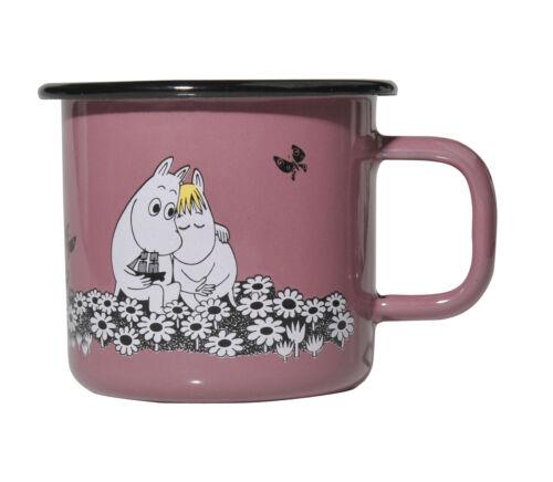 Moomin Enamel Mug Retro Together Forever 0.37 L