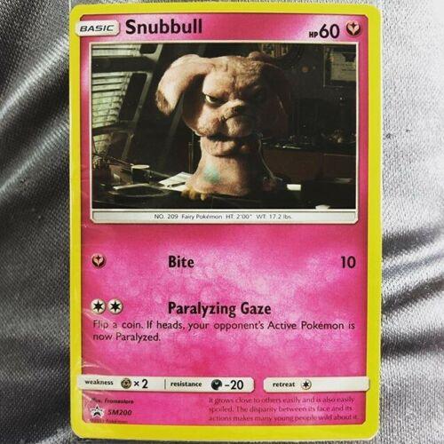 Detective Pikachu Snubbull Promo Card GameStop Exclusive SM200 New