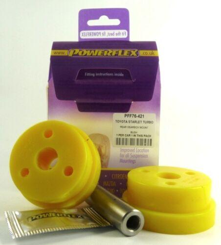 EP91 Powerflex arrière boîte de vitesses mont pff76-421 Bush TOYOTA Starlet Turbo EP82