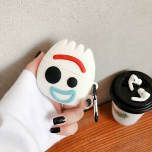 For Airpods Pro Case 3d Cute Cartoon Forky Silicone Earphone