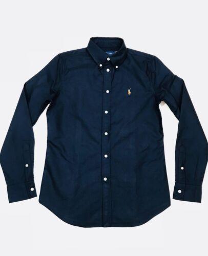 Ralph Lauren Oxford Ladies Shirt Navy             RRP £95