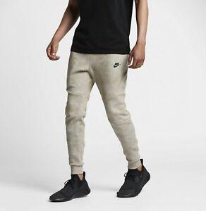 Nike Sportswear Tech Fleece Jogger Khaki Black Sz L 836416-235 New ... 0af45f8e6