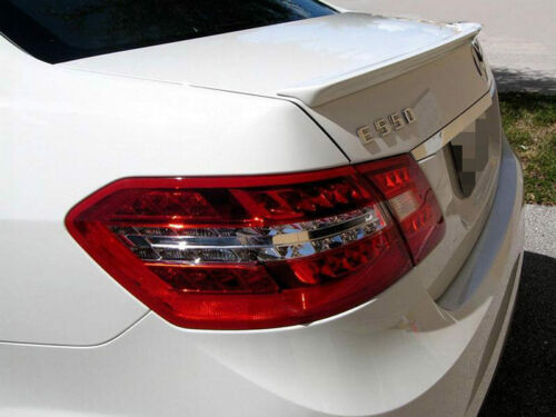 Unpainted A Style ABS Aero Trunk Boot Spoiler For Mercedes Benz W207 10-16
