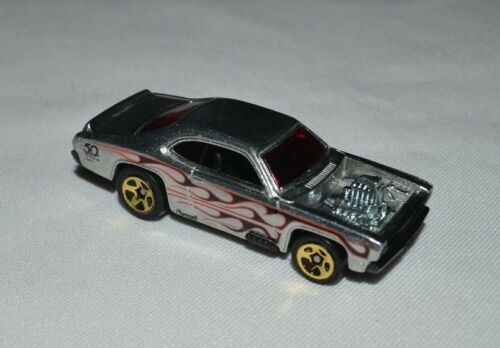 2017 HOT WHEELS ZAMAC PLYMOUTH DUSTER THRUSTER LOOSE FREE SHIPPING !