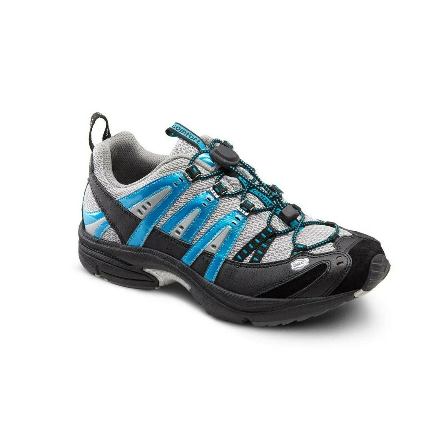 Dr. Comfort Performance Men's Therapeutic Athletic shoes  Metallic bluee 11 Med...