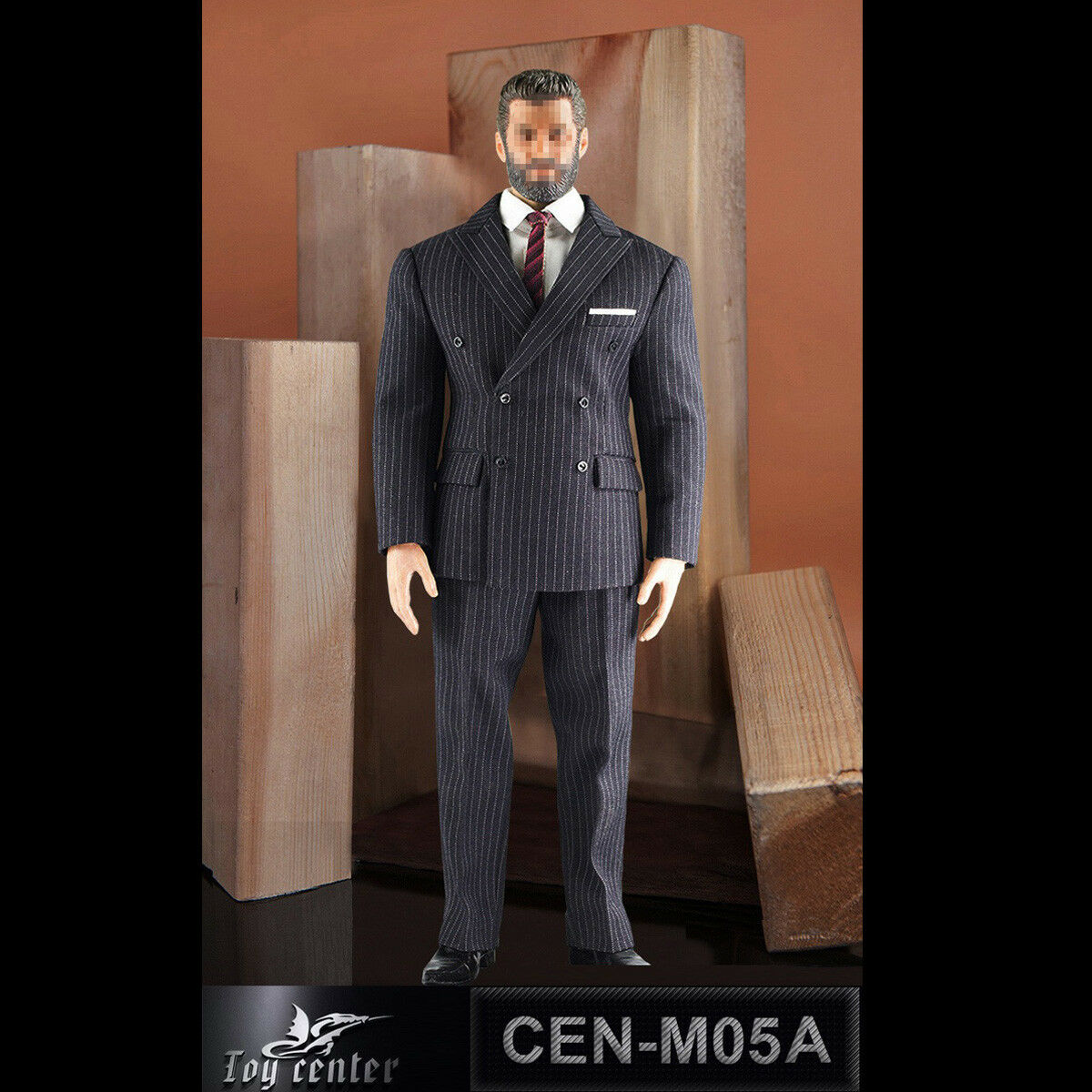 Toy Center 1 6th CEN-M05 Gentermen Striped Suit Clothing Set 3 colors Available