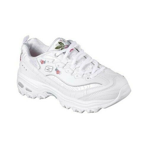 a76edf93d Skechers Women's Bright Blossoms Sneaker White 7 M US for sale online | eBay