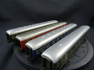 Maerklin-HO-Konvolut-Personenwagen-1-2-Klasse-Speise-u-Packwagen-Pim18-gebraucht