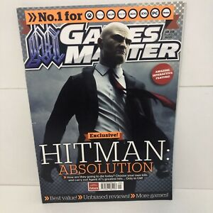 Games Master Magazine Issue 254 SEPTEMBER 2012 HITMAN ABSOLUTION EXCLUSIVE