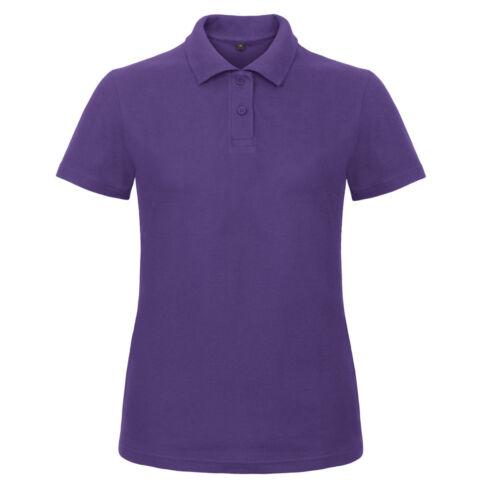 Bottines femme 100/% ringspun coton à manches courtes polo shirt 20 couleurs 8-20 free pnp