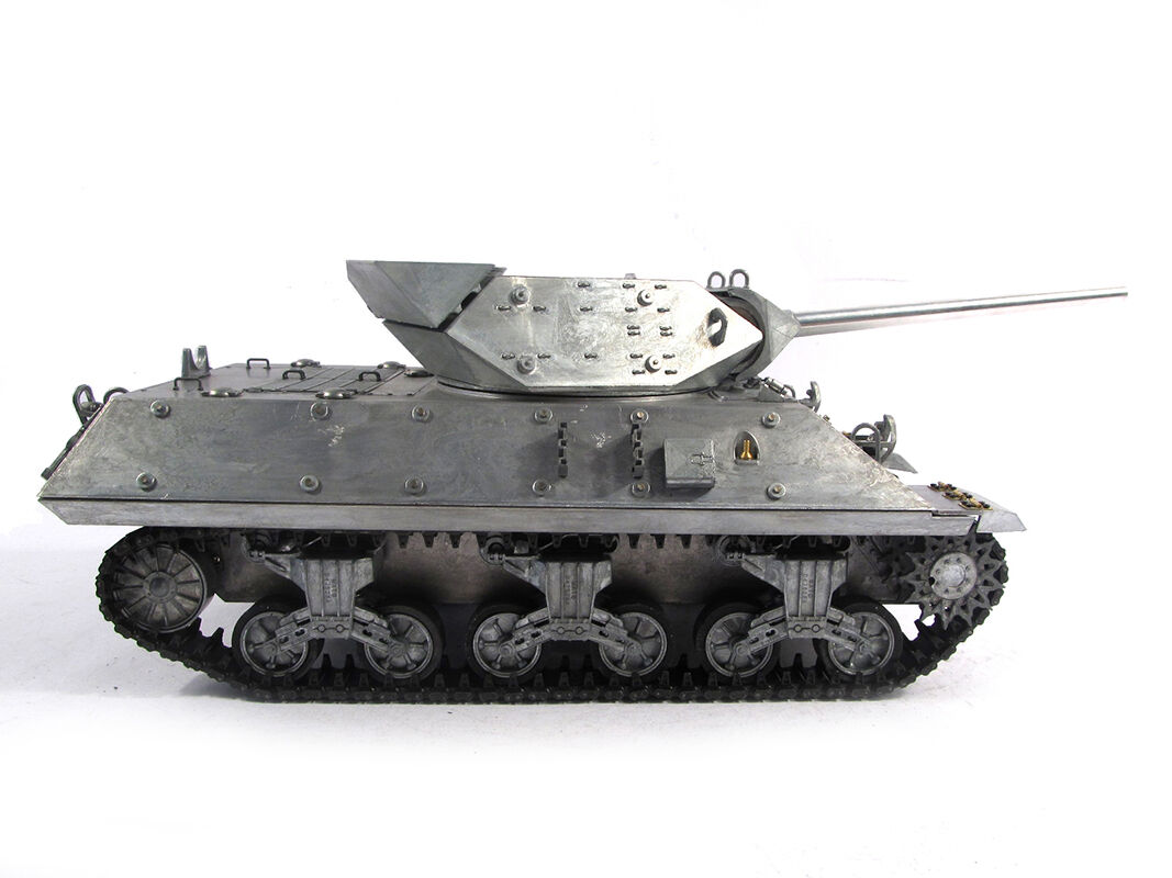 Mato 1 16 tutti Metal RC Tank  M10 Destroyer KIT Infrarosso Recoil 1210  i nuovi marchi outlet online