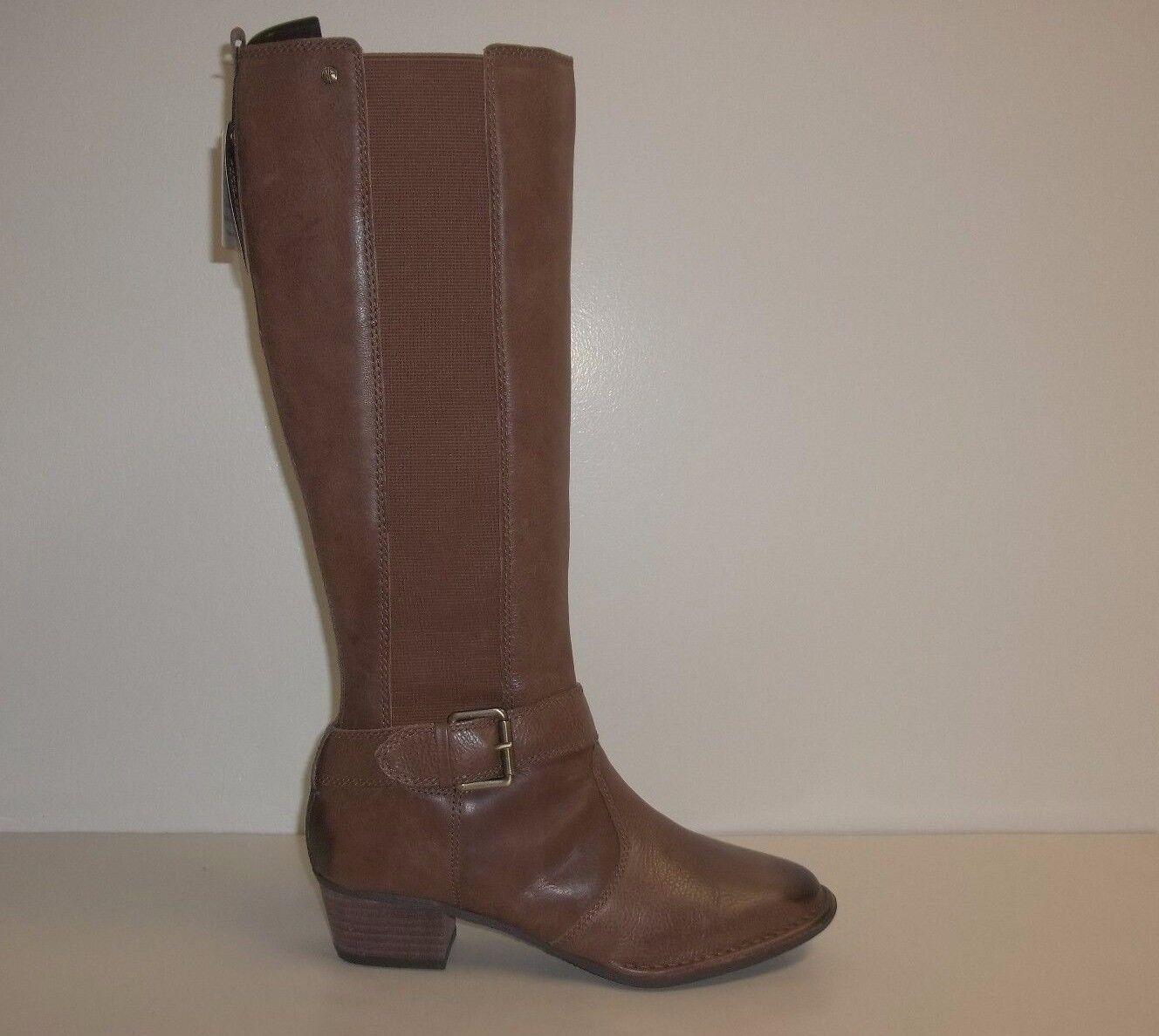 Giani Bernini Größe 6.5 M ALLCOTT Nut Braun Leder Stiefel NEU Damenschuhe Schuhes NWOB