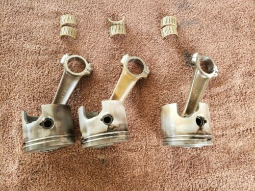 1998 Mercury 150 HP Optimax DFI outboard Piston,Rod,Bearings Stbd Side standard