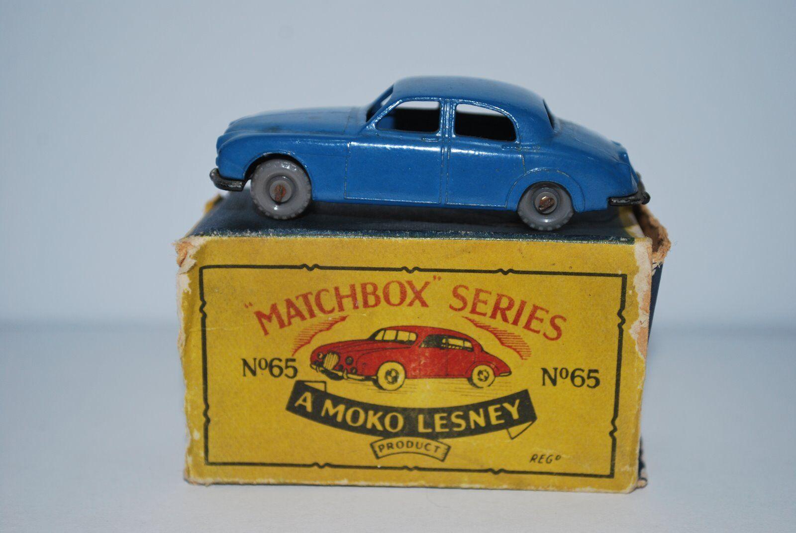 Vintage Matchbox (Moko) Lesney Jaguar 3.4 no 65