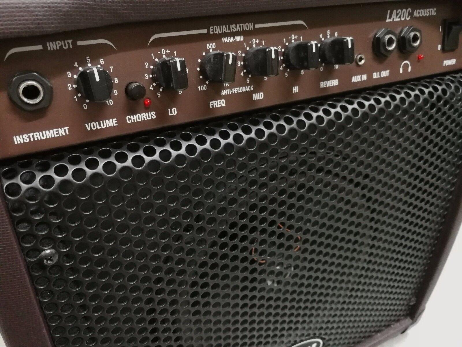 Lanney LA 20C Acoustic Guitar Amp