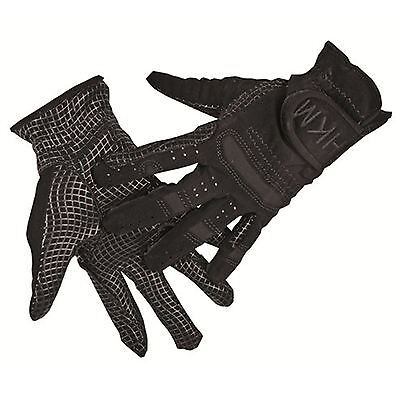 HKM Equestrian Ladies Mens Strong Breathable Grip Stretch Horse Riding Gloves