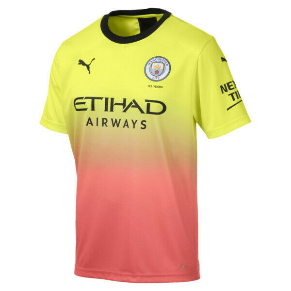 Manchester City FC Men's Third Replica Jersey  90.00 Style Number 755594_03