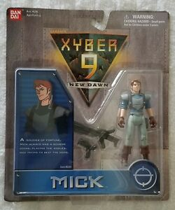 XYBER-9-NEW-DAWN-MICK-4-INCH-ACTION-SOLDIER-BANDAI-1999
