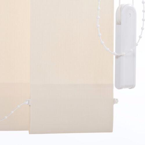 Lamellenvorhang Vertikalanlage Lamelle 89 Länge kürzbar 127 mm 8 Farben